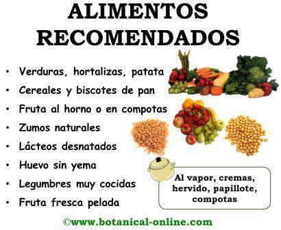 alimentos recomendados en la dieta  la pancreatitis important information pinterest
