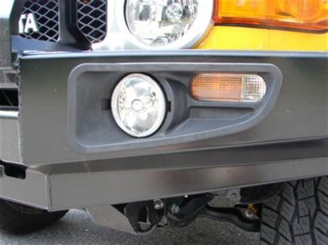 bull bar fog lights ipf fog light inserts for arb deluxe front bumper 9249fck