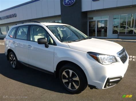 subaru forester 2017 colors 2017 crystal white pearl subaru forester 2 5i 117091513