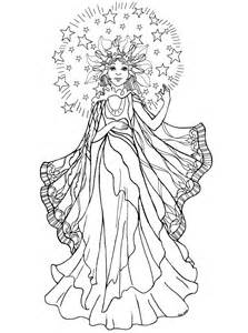 beautiful anime angel coloring pages coloring pages