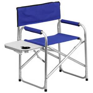 Best Camping Chairs Aluminum Folding Camping Chair With Table Blue Free Shipping