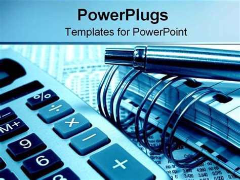 financing tools powerpoint template background of