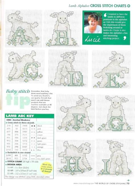 Cross Cleson 281 best cross stitch abc images on embroidery