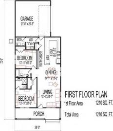 One Story Small House Plans by Small Low Cost Economical 2 Bedroom 2 Bath 1200 Sq Ft