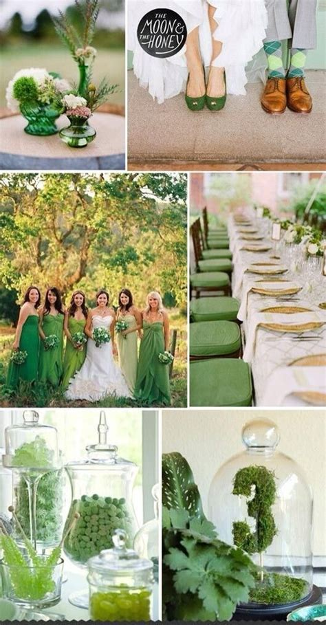 themes for the colour green 1000 images about shades of green wedding color palette