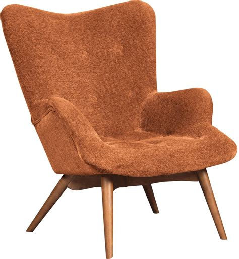 Orange Accent Chair Pelsor Orange Accent Chair 6340361
