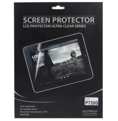Baterai Samsung Tab 10 1 P7500 professional lcd screen guard protector for samsung galaxy