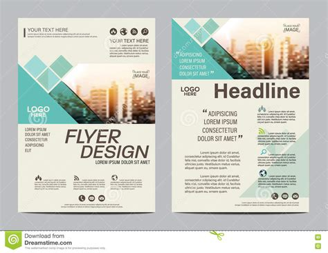 brochure flyer leaflet layout design template stock brochure layout design template annual report flyer