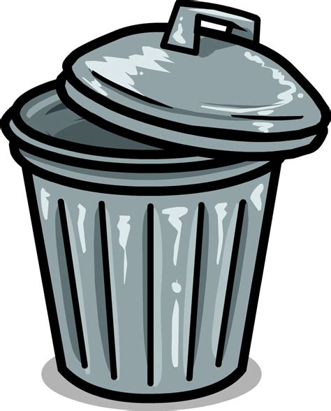 trash clip garbage can clipart clipground