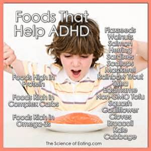 right diet for with adhd