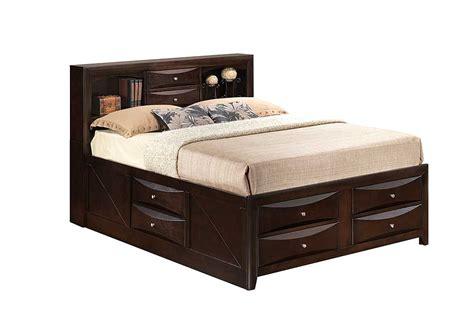 bookcase bed queen best buy furniture and mattress cappuccino queen storage