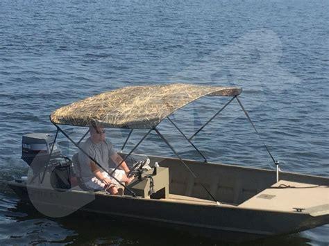 tin boat bimini top keepin it camo tinboats net