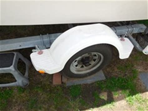 wesbar boat trailer fenders replacement white trailer fender and clearance lights for