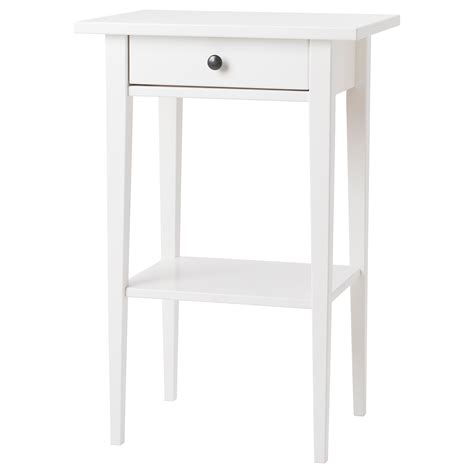 Ikea White Side Table Bedside Tables Bedside Cabinets Ikea