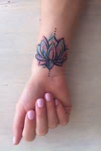 Lotus Flower Wrist Best 25 Lotus Wrist Ideas On Tiny