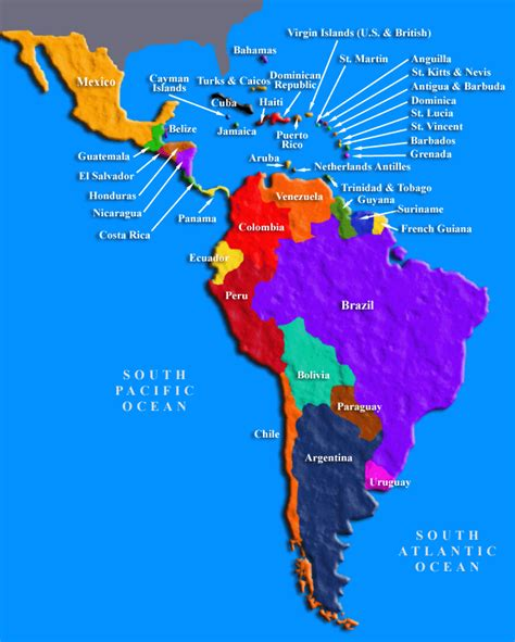map of latin america latin america is made up of mexico cee blog 187 center for ethics and entrepreneurship