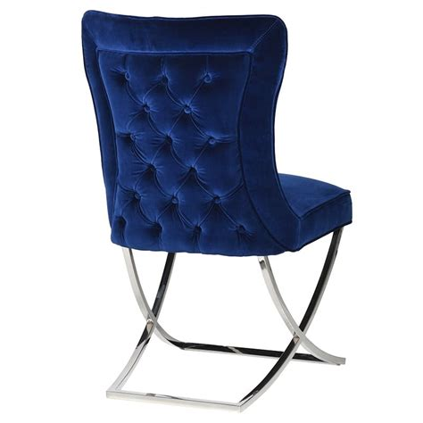 navy dining chairs uk navy larsson buttoned dining chair la maison chic