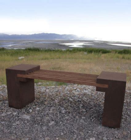 contemporary outdoor bench bridge bench contemporary outdoor benches other