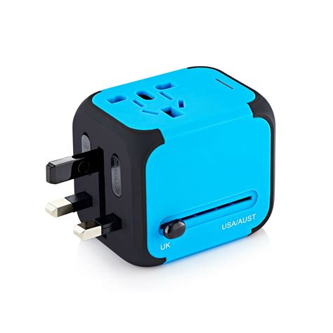 Travel Power international travel power adapter with 2 4a dual usb