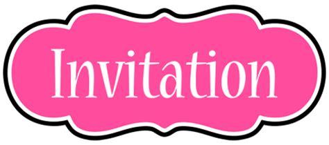 Invitation Design Logos | invitation logo