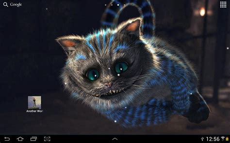 cheshire cat wallpaper android cheshire cat live wallpaper for android free download on