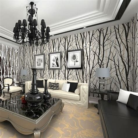 Tree Design Wallpaper Living Room by Paper Or Plastic Book Picture More Detailed Picture