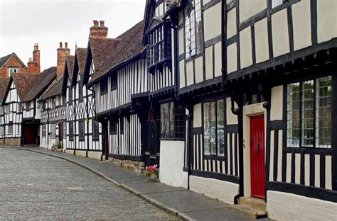 Different Houses Panoramio Photo Of Tudor Style Houses On Mill Street