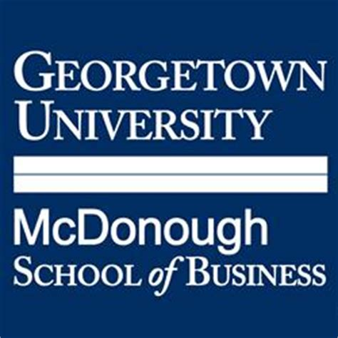 Georgetown Mcdonough Mba Employment Report by Georgetown The Consortium