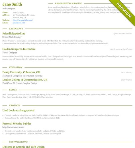 charisma template free resume templates cv templates resumonk