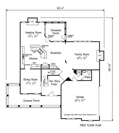 direct from the designers house plans the culbertson house plans first floor plan house plans