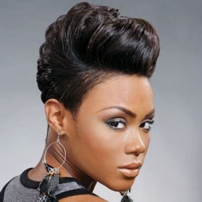 best flat iron for african american hair 2012 cute voluminous half up hairstyle for african american