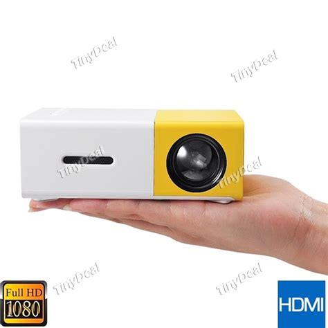 Murah Yg300 Mini Led Projector Portable yg300 mini portable led projector hd built in battery with