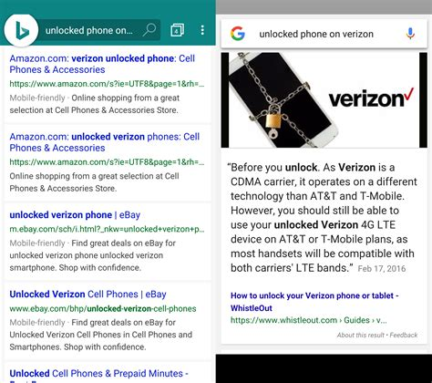 Verizon Search I Ditched Used For A Month And Here S What Happened Talkandroid