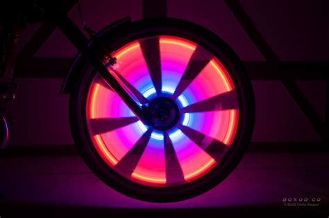 Bicycle Wheel Lights by Radlicht Led Wheel Lights For A Bicycle