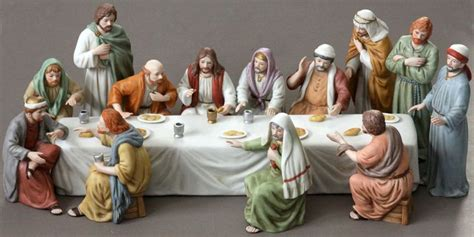 home interiors figurines lord s last supper figurine set home interiors 12 disciple
