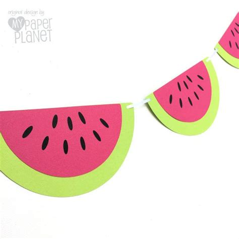 printable watermelon banner 25 best ideas about watermelon party decorations on