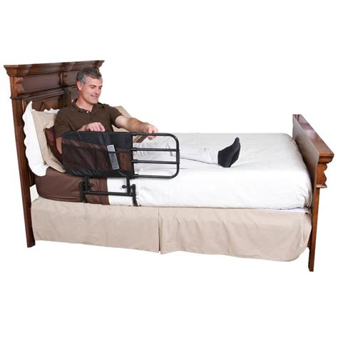 standers ez adjustable bed rail side rail protection