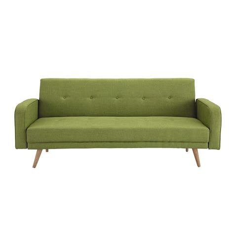 Clic Clac Sofa Bed by Lime Green 3 Seater Clic Clac Sofa Bed Broadway Maisons