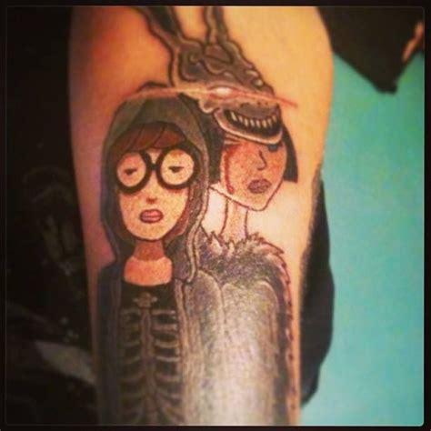 daria tattoo donnie darko donnie darko