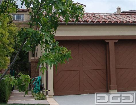 composite wood garage doors eco eco alternative garage doors 13 quot chevron quot design composite garage door design mediterranean