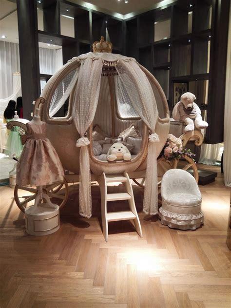 baby nursery lovely cinderella pumpkin canopy crib white
