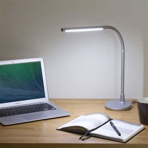 Satechi Flexible Led Desk L With Usb Charger Gadgetsin Desk With Light