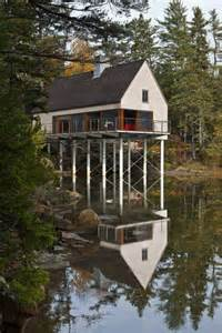 pond house in maine by elliott elliott architecture - Houses In Maine