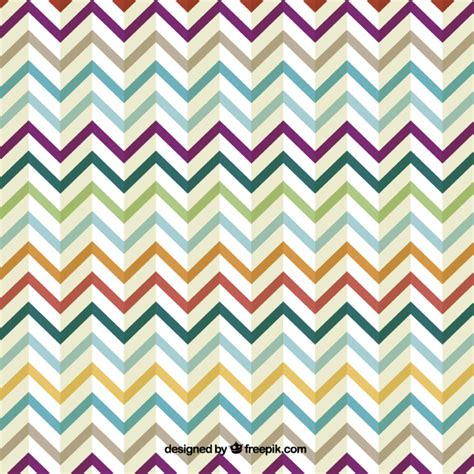 design zig zag retro zig zag colorful design vector free download