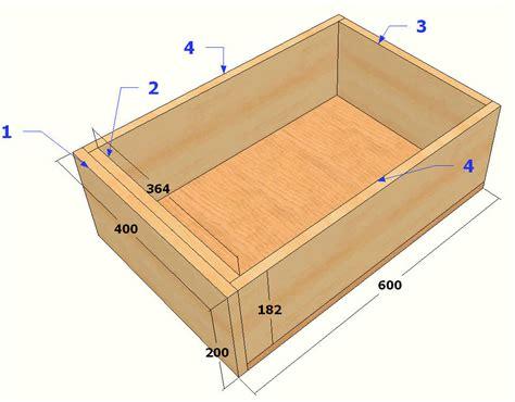 Faire Un Tiroir by Comment Construire Un Tiroir La R 233 Ponse Est Sur Admicile Fr