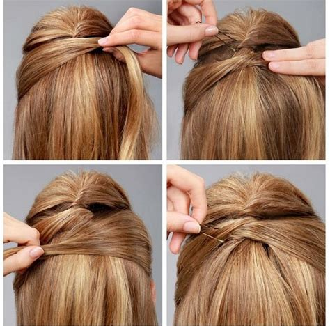 Criss Cross Hairstyles criss cross hairstyle tutorial alldaychic