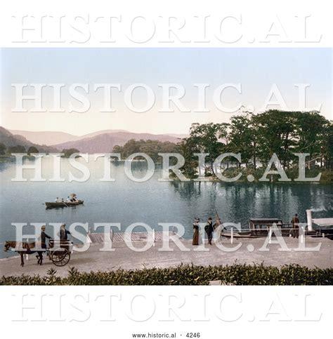 boat registration windermere historical photochrom of bowness on windermere windermere