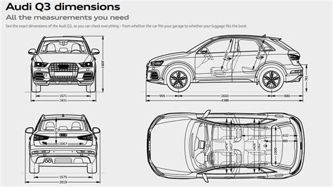 Abmessungen Audi Q3 by Q3 Gallery Audi Uk