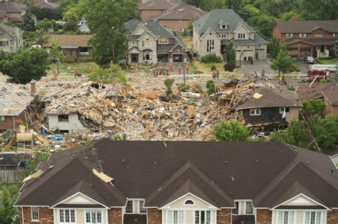 House Explosion by Gas Focus Of Investigation In Deadly Mississauga House Explosion Toronto