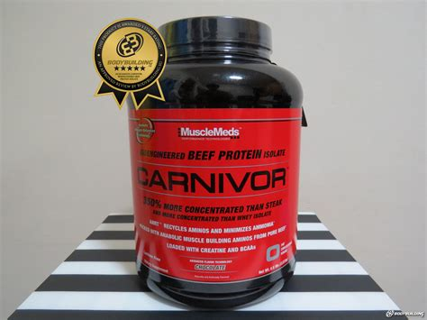 Carnivor Beef Supplement Fitness Whey Protein Musclemeds Carnivor Bioengineered Beef Protein Isolate